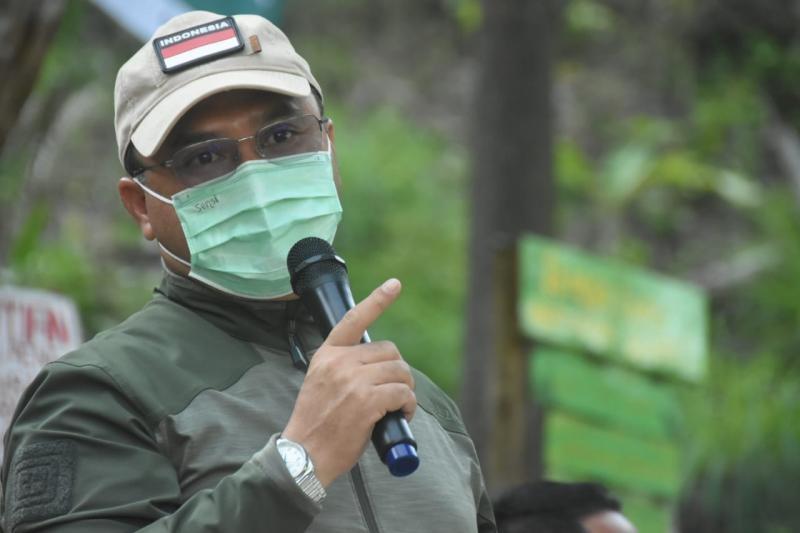 Kolaborasi Gubernur Erzaldi dan Desa Beluluk Jaga Kelestarian Alam Bukit Kejora