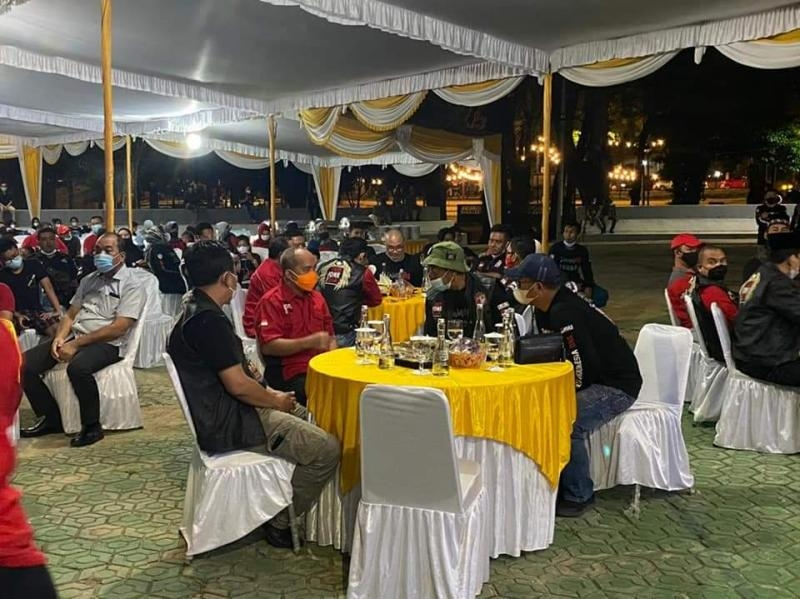 Walikota Sambut Pajero Sport Club Indonesia Di Rumah Dinas