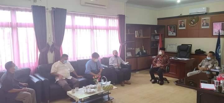 Ketua Komisi IV DPRD Babel Kunjungi Dinas Pendidikan Pemuda Dan Olah Raga Kabupaten Bangka