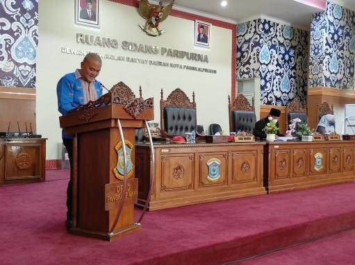Wakil Walikota Hadiri Rapat Paripurna Perubahan APBD dan PPAS Perubahan Tahun Anggaran 2021