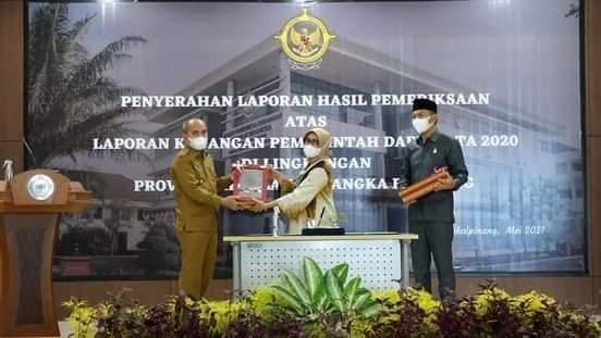 Pemerintah Kota Pangkalpinang kembali meraih WTP dari BPK RI