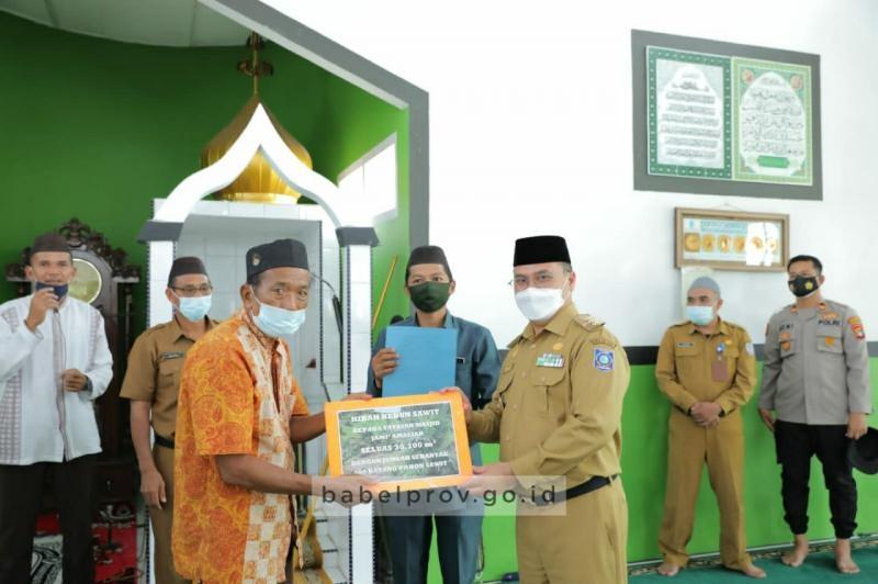 Gubernur Erzaldi : Jadikan Masjid untuk Kemaslahatan Umat