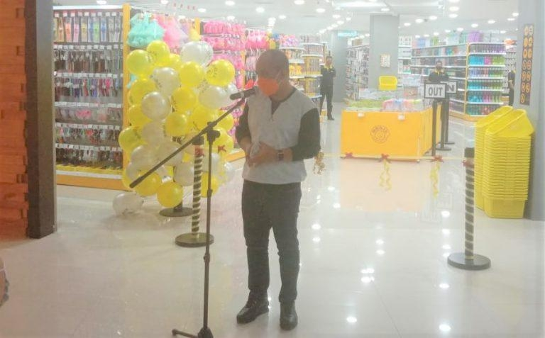 Walikota Pangkal Pinang Resmikan MR.DIY