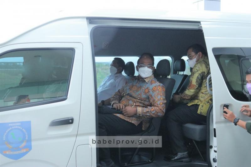 Mendagri Tito Karnavian Lanjutkan Kunjungan Kerja ke Belitung