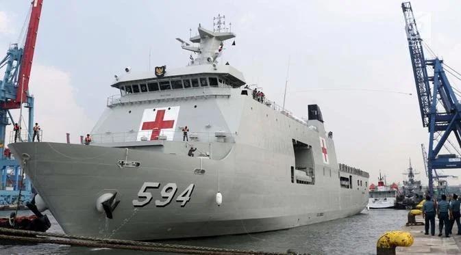 Gubernur Erzaldi : Terima Kasih, KRI Semarang-594