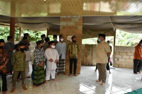 Gubernur Erzaldi Tinjau Pembangunan Pondok Pesantren Miftahussalam