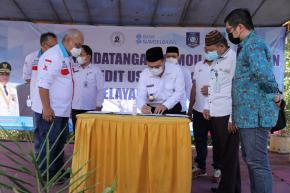Gubernur Erzaldi Hadiri Penandatanganan MoU Budi Daya Jahe Merah di Bangka Tengah