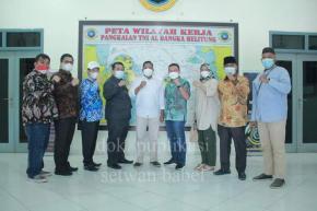 DPRD Babel Kunjungi Mako TNI AL Belinyu