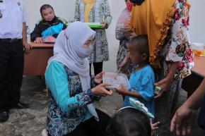 Ibu Melati Erzaldi Singgahi dan Edukasi Tiga Desa di Bangka Selatan