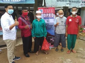 Ketua DPRD Bangka Reses Di Kecamatan Merawang