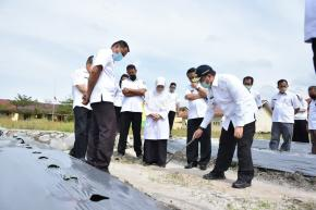 Gubernur Erzaldi Kunjungi SMK Bidang Pertanian dan Perkebunan di Bangka Barat