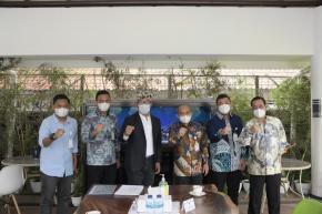 Walikota Pangkalpinang Berkunjung ke Rumah Dinas Gubernur Jawa Barat