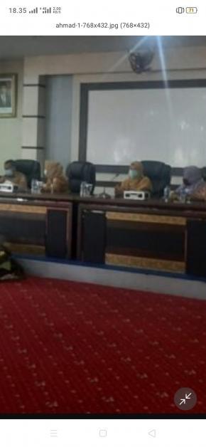 Radmida Dawam menghadiri Serah Terima Jabatan (Sertijab) Kepala Perwakilan Ombudsman Republik Indonesia Provinsi Kepulauan Bangka Belitung