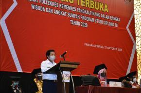 Lulusan Poltekkes Pangkalpinang Siap Bangun Daerah