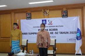 Pemprov. Babel Hadiri Peringatan Sumpah Pemuda ke-92 se-Indonesia