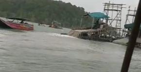 Penambangan Timah Ilegal di Wilayah Laut Mengkubung Kembali Aktif