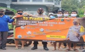 Operasi Yustisi Protokol Kesehatan, Polsek Riau Silip temui sejumlah pelanggaran