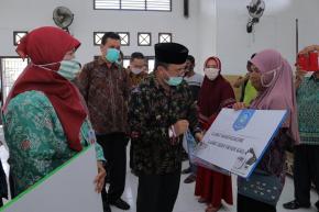 12.671 Keluarga Penerima Manfaat Terima Bantuan Sosial Tunai