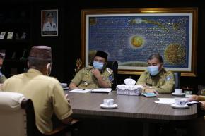 Gubernur Erzaldi Wawancara Langsung 7 Calon Kepala SMK di Babel