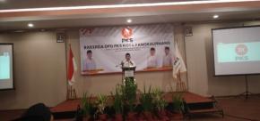 Walikota Pangkalpinang Hadiri RAKERDA DPD PKS