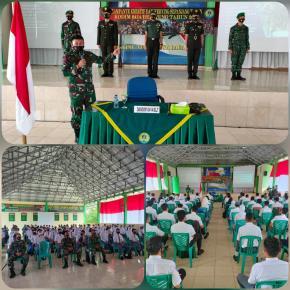 Kodim 0414/ Belitung Sosialisasi Penerimaan Calon Prajurit TNI AD, Dandim 0414/Belitung Letkol Inf Mustofa Akbar: Semuanya Gratis