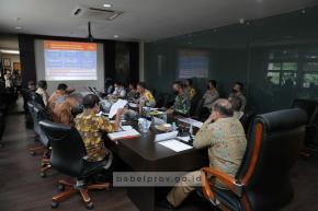 Empat Satgas Sampaikan Sejumlah Strategi Penanganan Covid-19 di Hadapan Gubernur