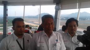 Tingkatkan Pelayanan Navigasi Penerbangan, Airnav Bangun Tower Baru Setinggi 34 Meter di Bandara Depati Amir Pangkalpinang