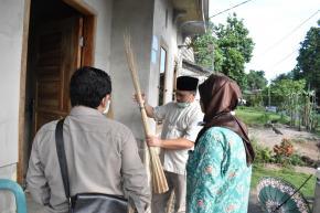 Lidi Nipah Jadi Potensi Mata Pencaharian Baru Desa Kota Kapur