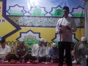 Wakil Bupati Bangka Rayakan Maulid Nabi di Cendrawasih