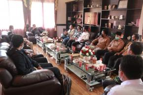 Pemuda Muhammadiyah Babel Silahturahmi Ke DPRD, Ini Kata Ketua DPRD Herman Suhadi