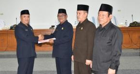 Pemkab Bangka Ajukan Nota Keuangan Perubahan APBD 2018