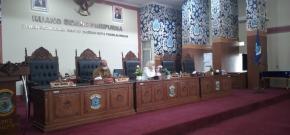 Walikota Pangkalpinang  Menyampaian Dan Menjelaskan Tiga Raperda Pada Rapat Paripurna ke-21