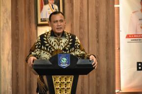 Ketua KPK RI Apresiasi Babel Atas Prestasi Nasional Penanganan Covid-19