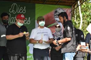 Gubernur Erzaldi Apresiasi Sang Pelindung Bukit Mangkol, Bujang Squad