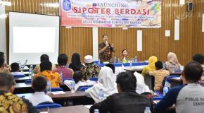 Dinkes Bangka Launching Aplikasi SI POTER BERDASI