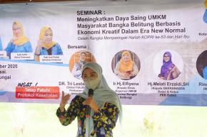 Ketua Dekranasda Melati Erzaldi Ajak Para Mahasiswa Jadi Socialpreneur