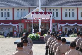 Pesan Gubernur ke Siswa Bintara : Jadilah Kebanggaan Bangsa
