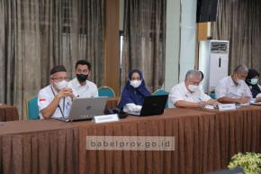 Kemenpan PANRB Lakukan Penilaian Sakip dan Reformasi Birokrasi Pemprov Babel Tahun 2021