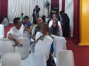 Bupati Bangka dan Istri Datangi Posko Korban Lion 610 di Jakarta