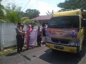 Polda Babel Kirimkan Bantuan Untuk Korban Gempa Lombok
