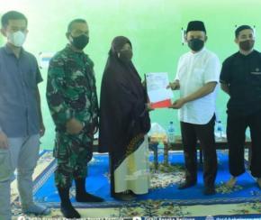 Pimpinan DPRD Babel Serahkan Bantuan dalam Silaturrahmi dengan Pengurus TPA Al-Muflihun.