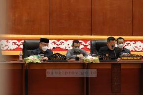 Gubernur Instruksikan Jajarannya Segera Tindaklanjuti Rekomendasi DPRD Babel
