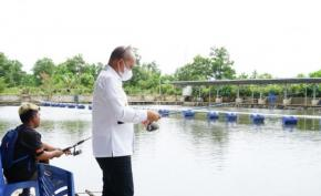 Walikota Mancing Dan  Menyantap Lempah Kuning