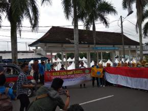 Mahasiswa Babel Suarakan Jangan Suriahkan Indonesia