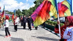 Wabup Bangka Hadiri Peringatan Hari Santri Nasional di Ponpes Bahrul Ulum