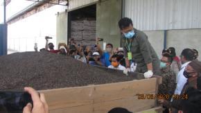 Pemprov Babel Dukung Penuh Ekspor Cangkang Sawit di Babel