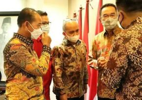 Walikota Pangkalpinang Perkuat  Dan Kolaborasi Dengan DPR RI Fraksi PDI Perjuangan