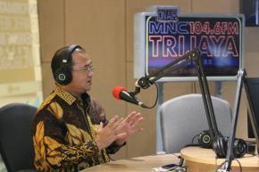Gubernur Erzaldi Mengudara Lewat Radio MNC Trijaya FM
