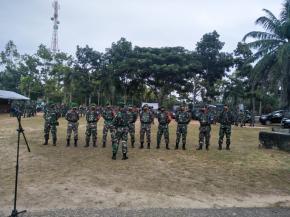 Koramil 414-01 /Tanjungpandan Dan Anggotanya  Siap Bantu Pengamanan Jelang Pilkada Belitung Timur