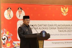 Gubernur Erzaldi Imbau Satuan Kerja Babel Untuk Tingkatkan Kualitas Belanja 2021